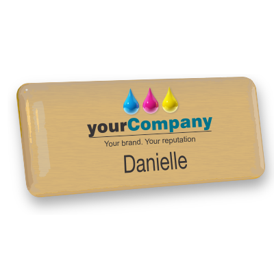 custom staff employee name badges australia imprint plastic