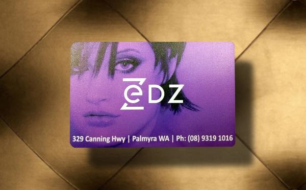 Zedz Customer Loyalty Card: Full-Colour Digital UV Printing