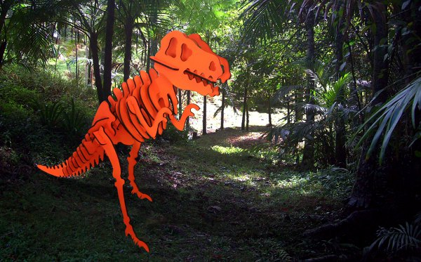 Imprint Creative Services Laser Profile Cutting 3D Jurassic Dinosaur