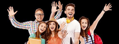 Section Break University Students Enjoying University Life Belonging
