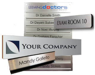 Complete Range of Office Wall Door & Desk Signs